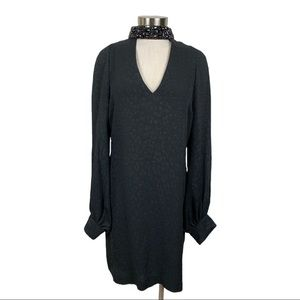 Tracy Reese Black Label Black Long Sleeve Dress